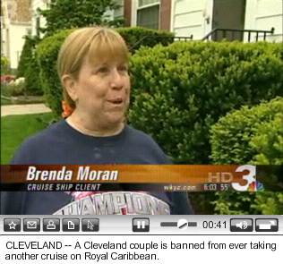 Brenda Moran speaks to WKYC reporter Mike O'Mara