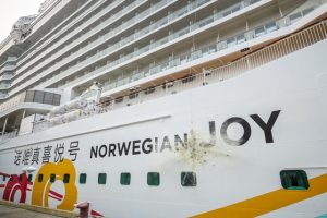 Norwegian Joy christened in Shanghai, China (Photo courtesy of Norwegian Cruise Line)