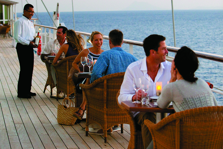 Windstar Cruises tells you how to swill at sea