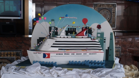 Ace of Cakes creates edible Carnival Pride