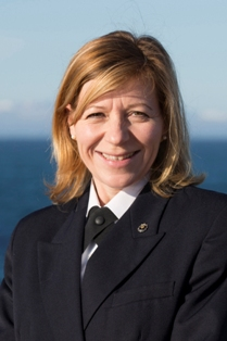 Captain Margrith Ettlin of Silversea Cruises