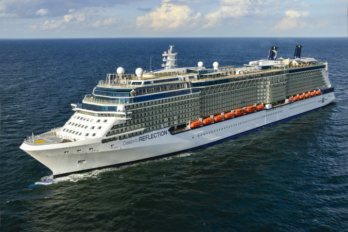 Update On Celebrity Reflection - CruiseReport - Port Reviews