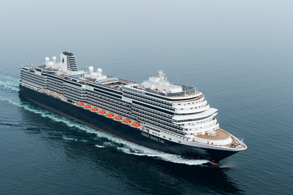 Bon Voyage! Live updates from Holland America Line