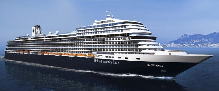 Holland America names their newest ship ms Koningsdam