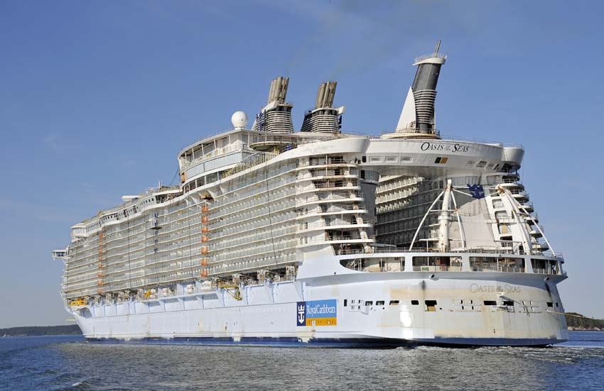 Royal Caribbean Orders Fourth Oasisclass Ship