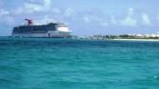 Carnival Pride docked at Grand Turk, Turks and Caicos