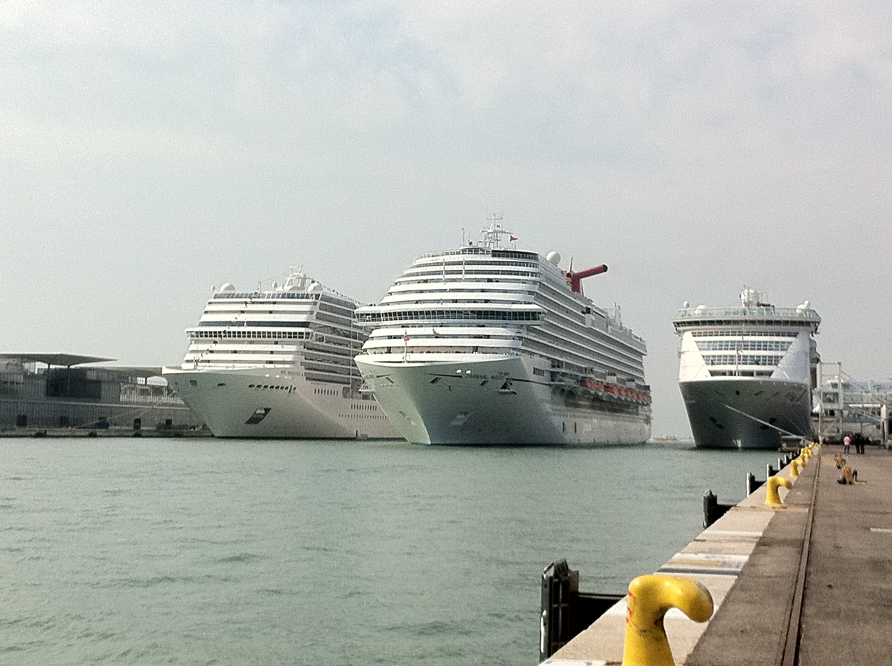 Carnival Magic Arrives In Venice For Its Maiden Voyage