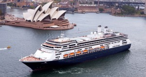 Holland America Ship Sydney courtesy of Carnival Corp Australia for use by ExpertCruiser.com