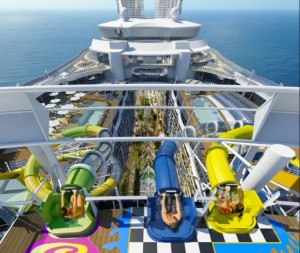 Harmony of the Seas Aqua Park image by Royal Caribbean for use by ExpertCruiser.com