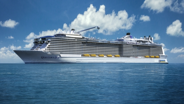 Royal Caribbean orders third Quantum-class ship