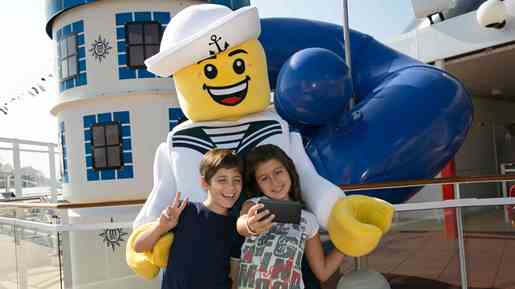 MSC Cruises teams up with LEGO