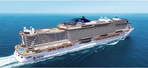 MSC Cruises new build seaside with Fincantieri