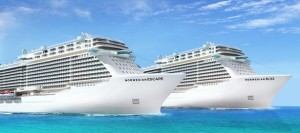 Norwegian Escape and Norwegian Bliss