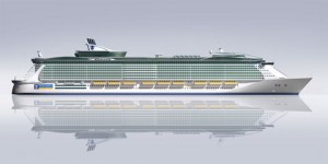 Royal Caribbean\'s Genesis Class ship (image courtesy of Royal Caribbean)