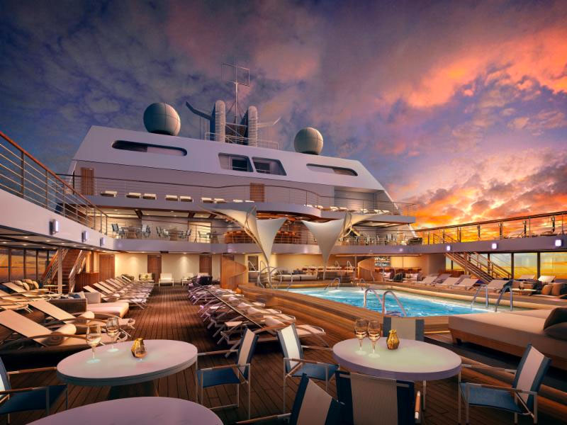 Seabourn names new ships Seabourn Encoure and Seabourn Ovation
