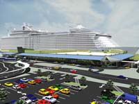 Terminal 18 rendering courtesy of the Port Everglades