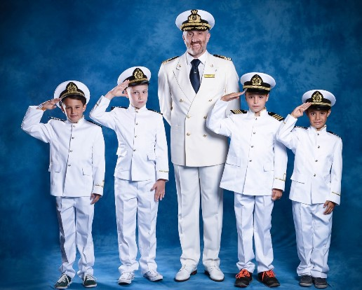 Hey kids be 'Captain for a Day' on Costa Cruises ...