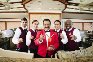 Ted Lang 'Isaac your bartender' Love Boat by Princess Cruises for use by ExpertCruiser.com